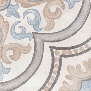 Adobe Decor Daiza Ivory 20x20