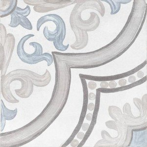 Adobe Decor Daiza White 20x20