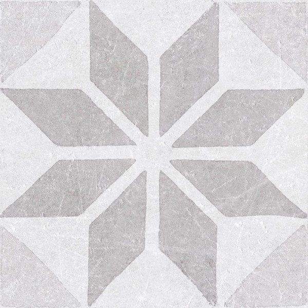 Materia Decor Star White 20x20