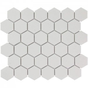 Mozaiek Barcelona Hexagon Extra Wit 5