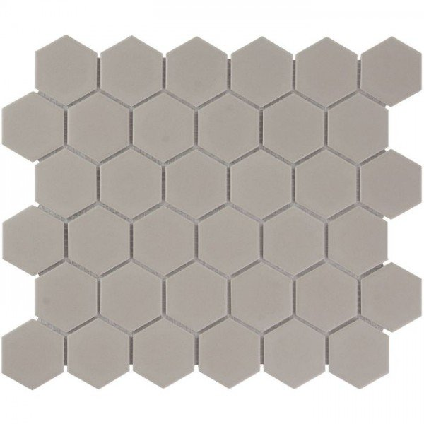 Mozaiek Barcelona Hexagon Taupe Mat 5