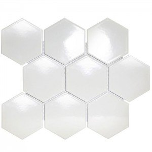 Mozaiek Barcelona Hexagon Wit 9