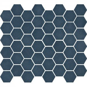 Mozaiek Valencia Hexagon Blauw Mat 4