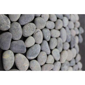 Mozaiek riverstone pebble grey