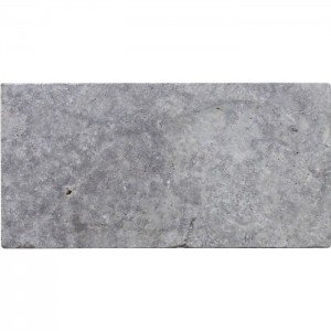 Travertin Multicolour Apulia grigio/silver 30x60x1