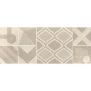 Wandtegel Aberdeen Taupe Decor 20x50