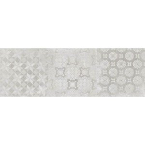 Wandtegel Downtown Decor White 40x120 rett