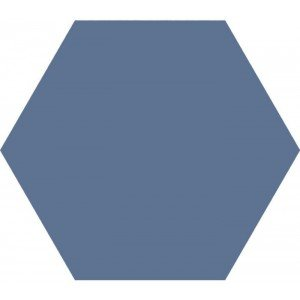 Hexagon Timeless Marine mat 15x17