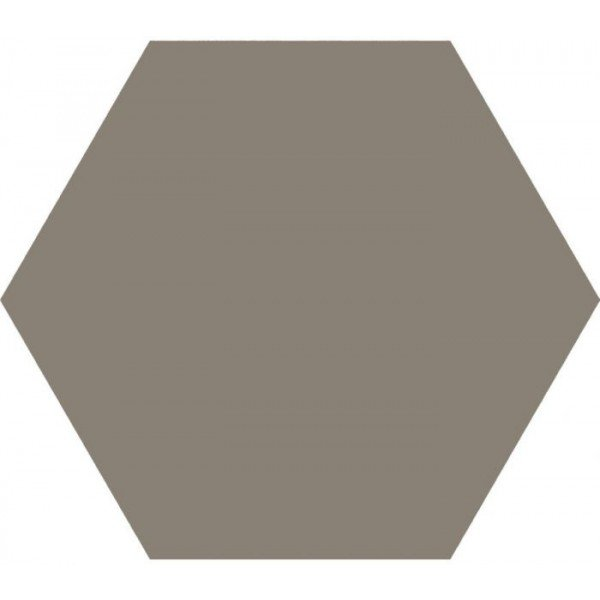 Hexagon Timeless Taupe mat 15x17