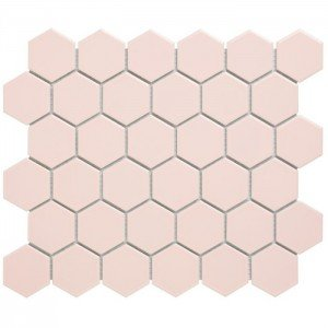 Mozaiek Barcelona Hexagon Roze 5