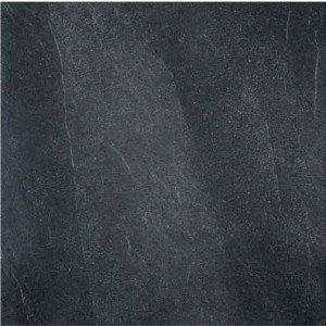 Vloertegel Leisteenlook Evolution Nero 90x90 rett